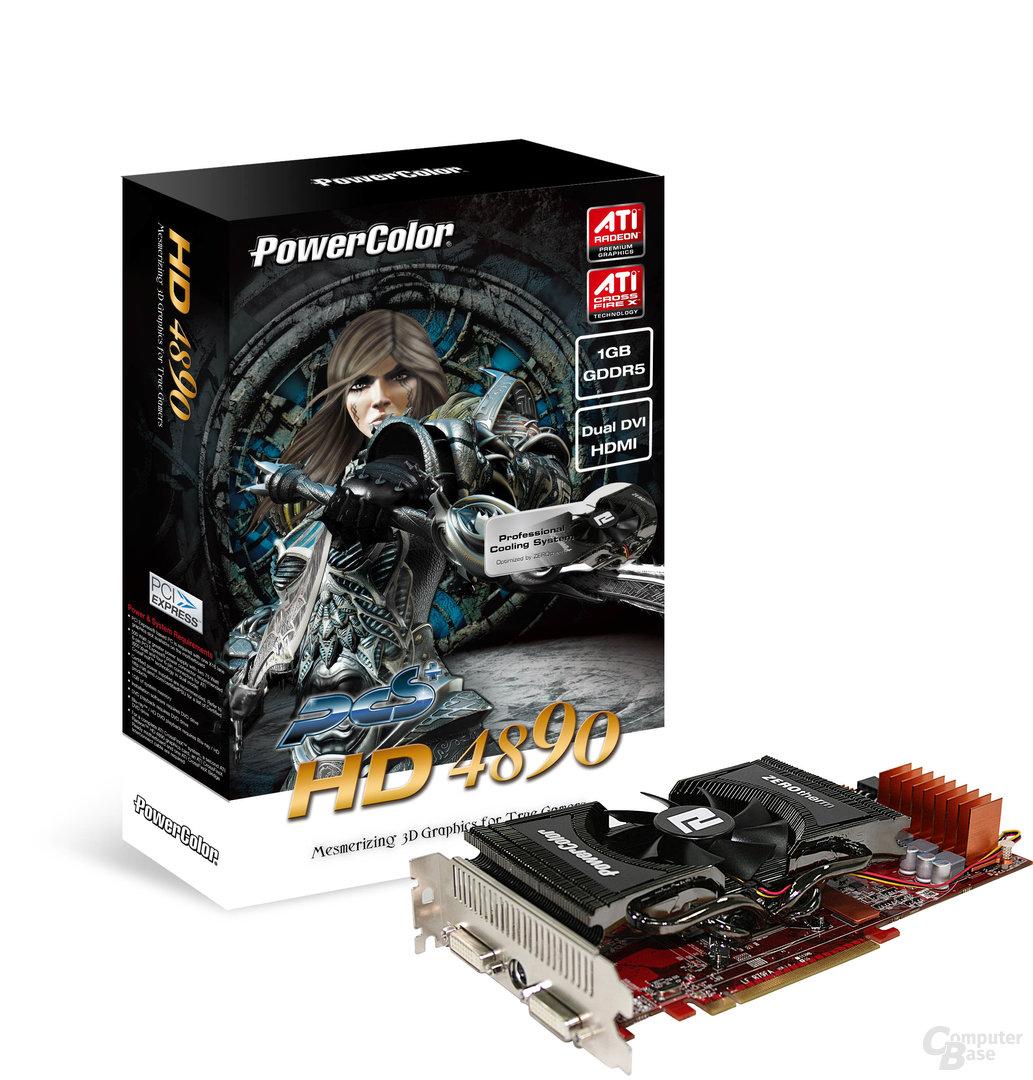 PCS+ HD 4890 1GB Dual DVI box+card