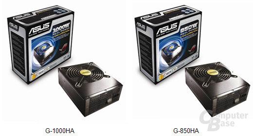 Asus G-1000HA und G-850HA