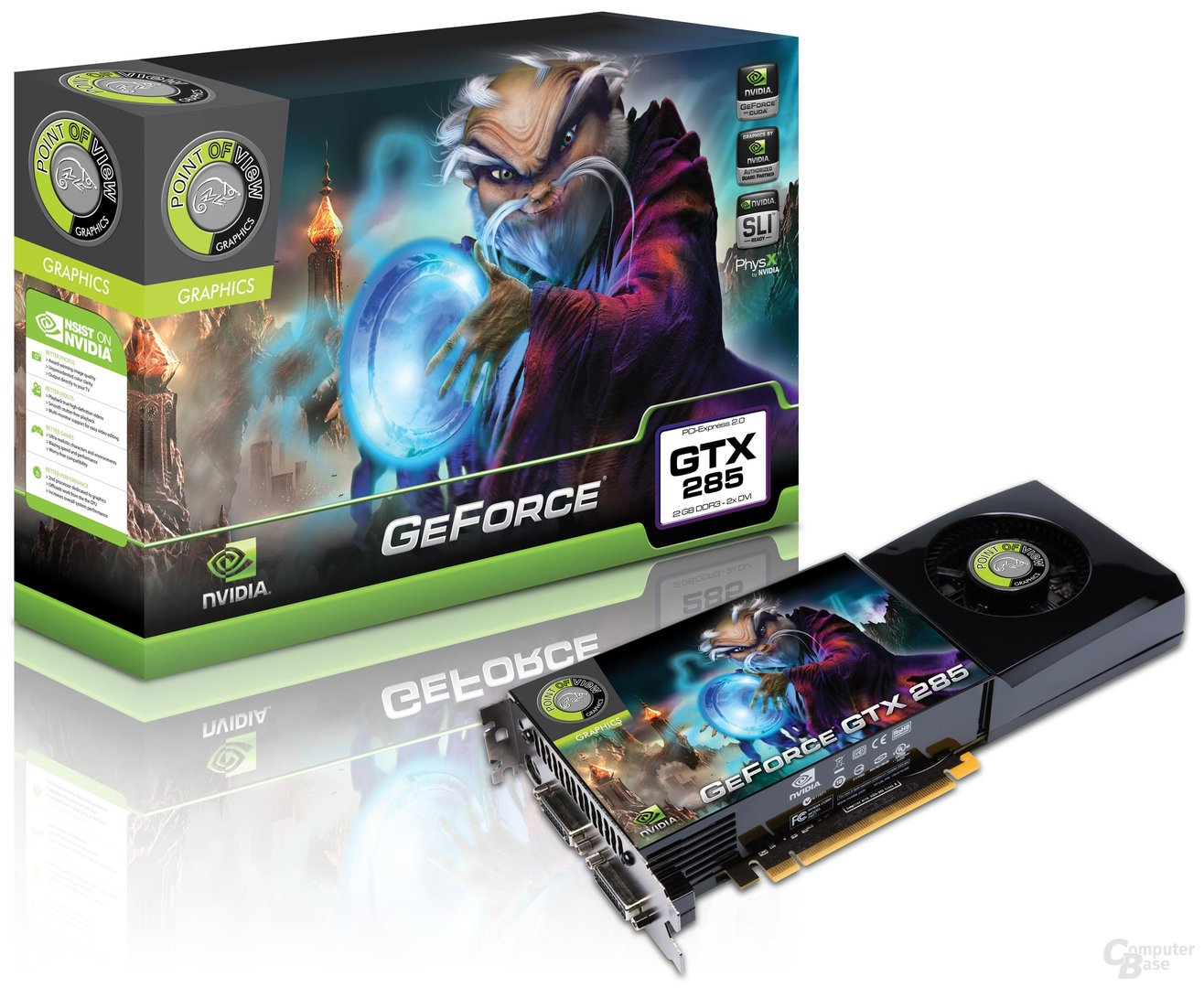 Point of View GeForce GTX 285 2 GB