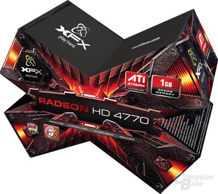 XFX Radeon HD 4770 mit 1 GByte GDDR5-Speicher