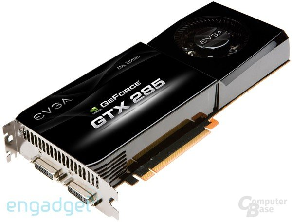 EVGA geForce GTX 285 Mac Edition