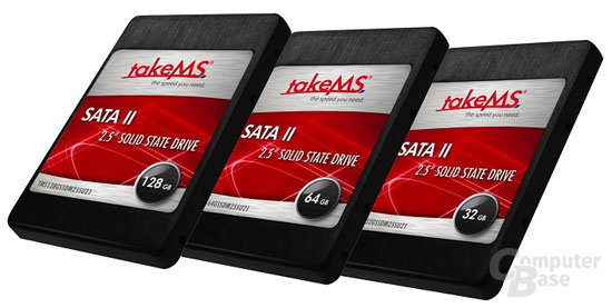 TakeMS Solid State Drives