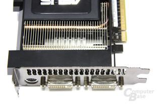GeForce GTX 260 Matrix von oben
