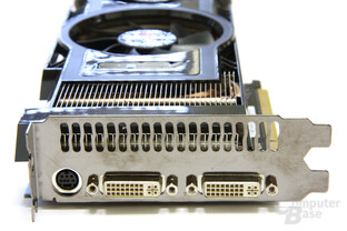GeForce GTX 260 Matrix Slotblech