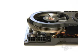 GeForce GTX 260 Matrix Stromanschlüsse