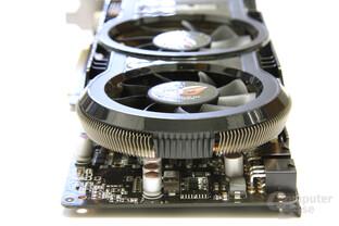 GeForce GTX 260 Matrix von hinten