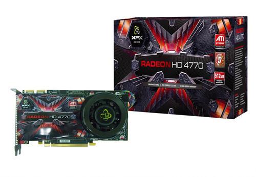 XFX Radeon HD 4770 mit alternativem Kühler