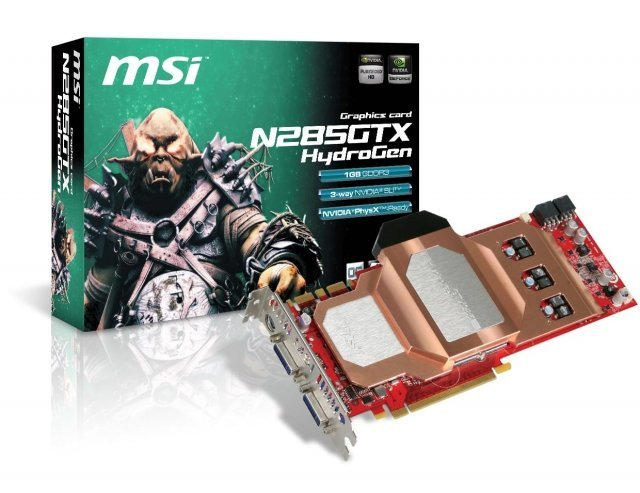 MSI GeForce GTX 285 HydroCopper