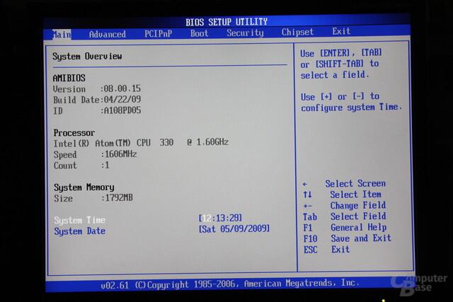 Zotac IONITX-A BIOS
