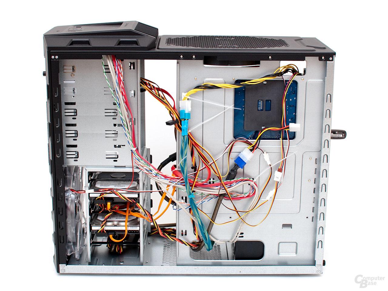 Cooler Master HAF 922 – Kabelmanagement
