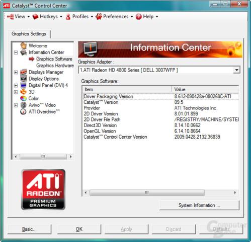 ATi Catalyst 9.5