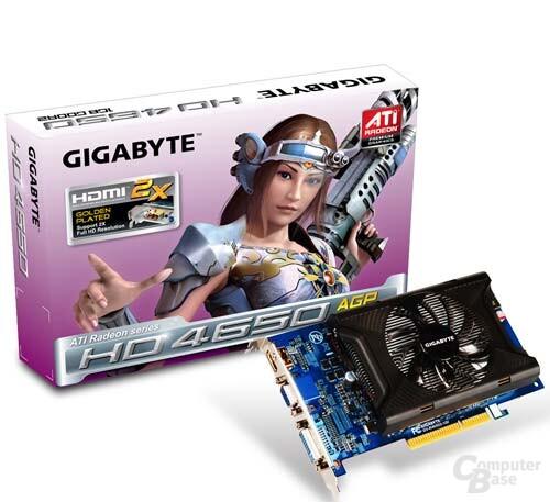Gigabyte Radeon HD 4650 für AGP