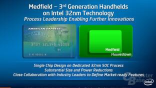 Medfield in 32 nm