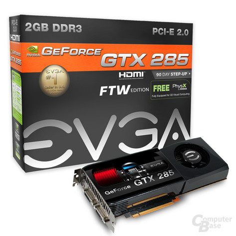 EVGA GeForce GTX 285 FTW 2 GB