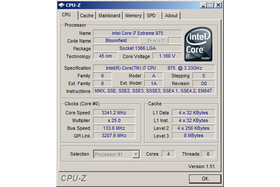 Intel Core i7 975 XE ganz normal