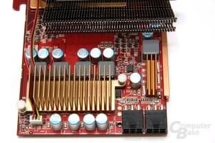 Radeon HD 4890 PCS+ Spannungswandler