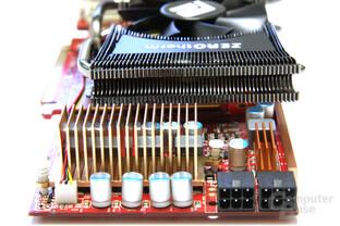 Radeon HD 4890 PCS+ von hinten