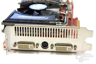 Radeon HD 4890 PCS+ Slotblech