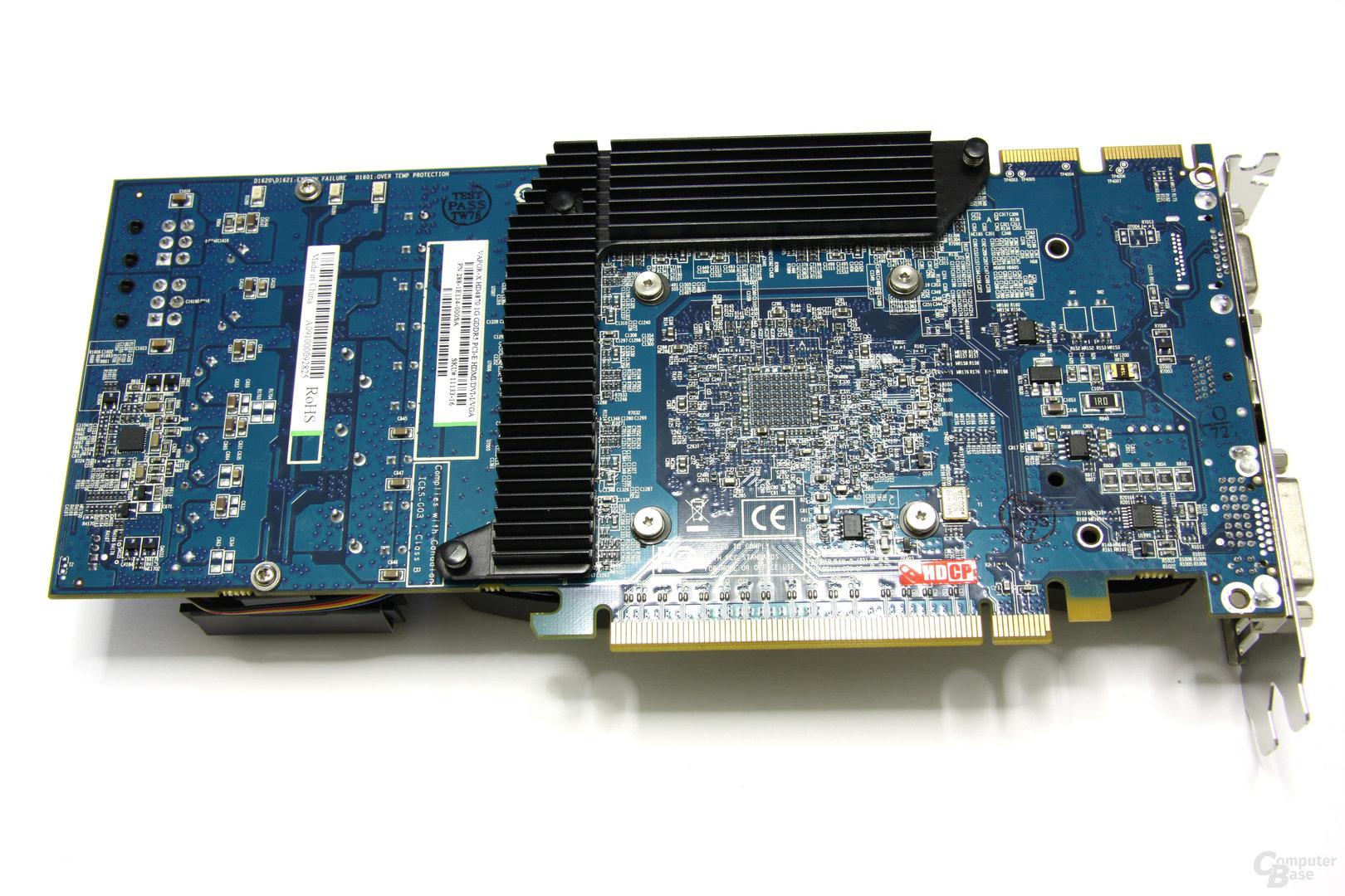 Radeon HD 4870 Vapor-X Rückseite