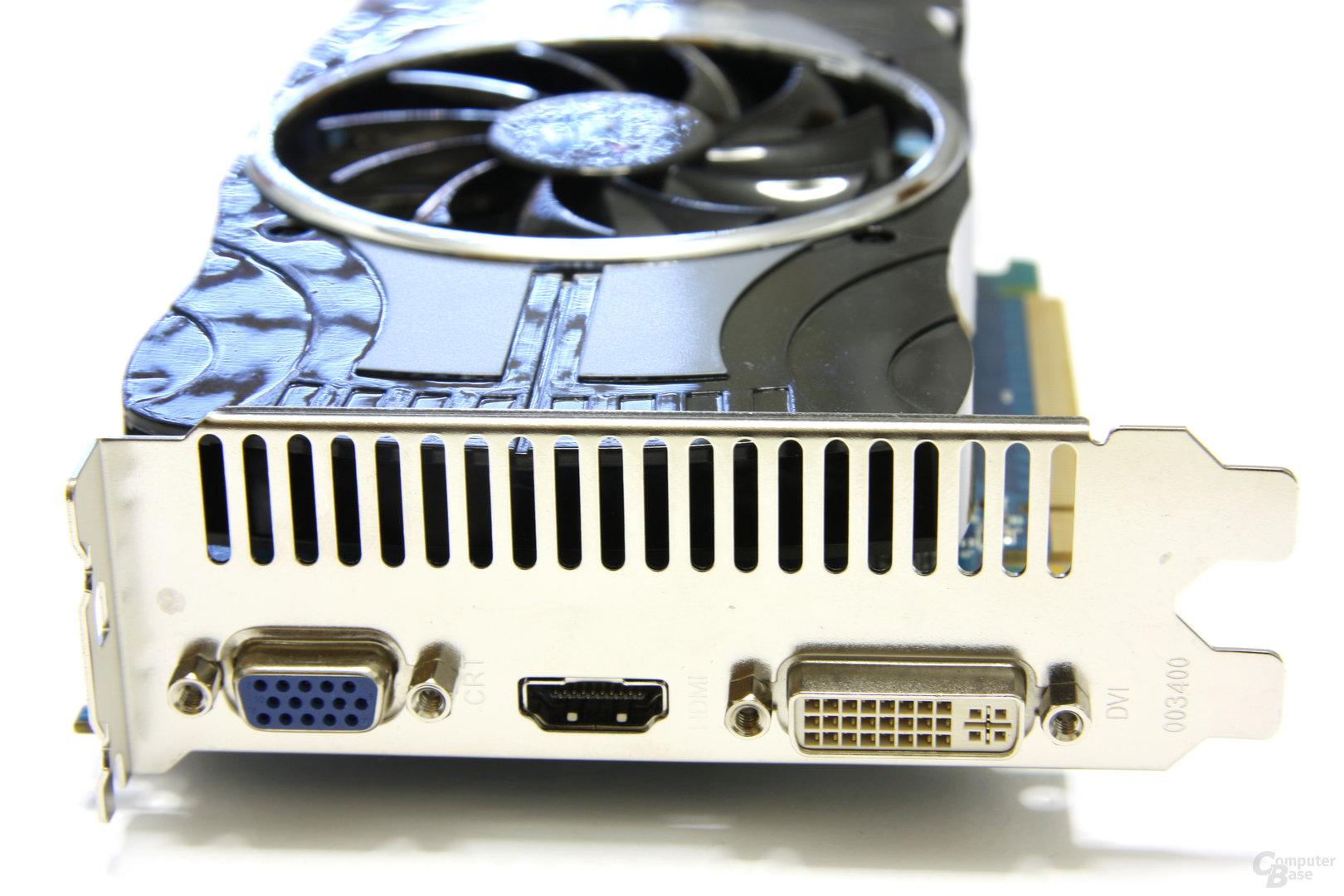 Radeon HD 4870 Vapor-X Slotblech