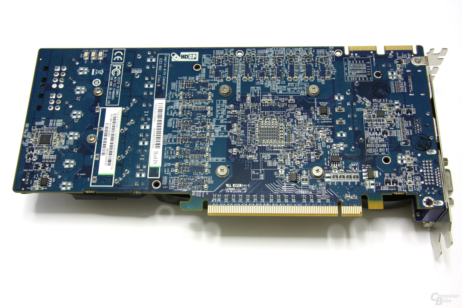 Radeon HD 4890 Vapor-X Rückseite
