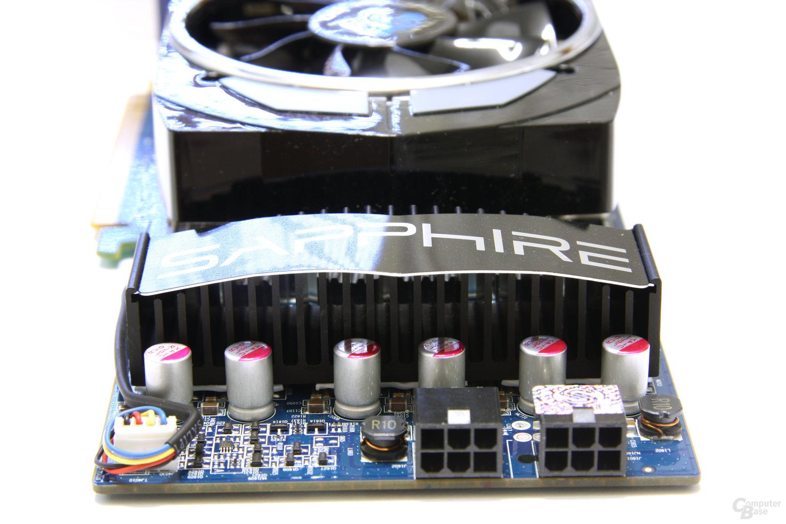 Radeon HD 4890 Vapor-X von hinten