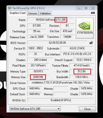 GPU-Z-Analyse