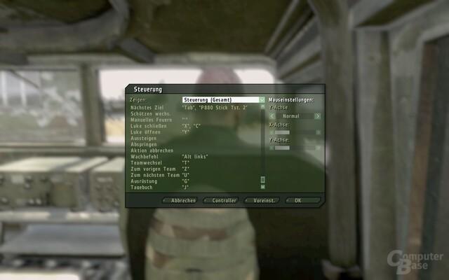 ArmA II: Komplexe Tastatur-Belegung