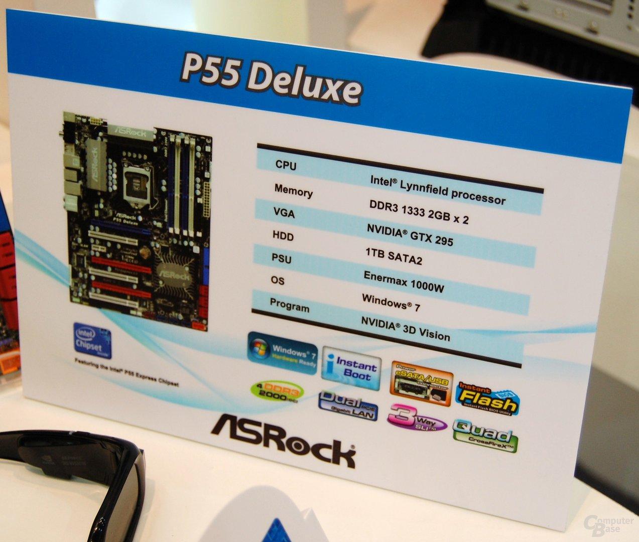 P55-Mainboards von ASRock mit SLI?