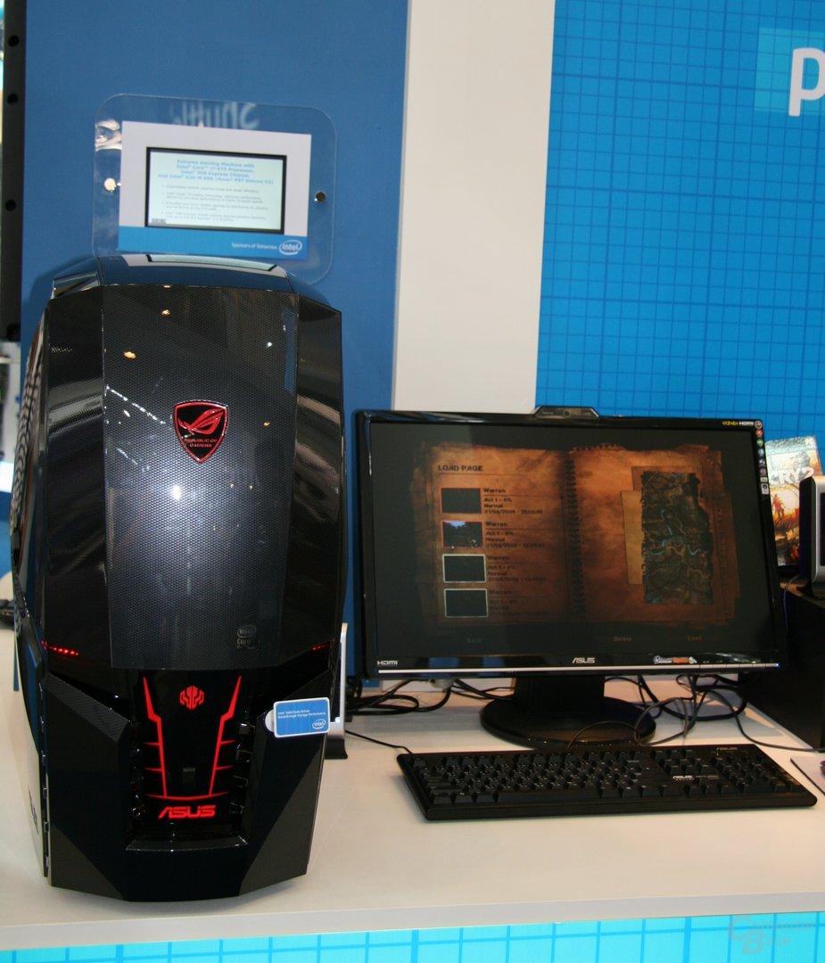 Gamer PC von Asus mit Core i7 975