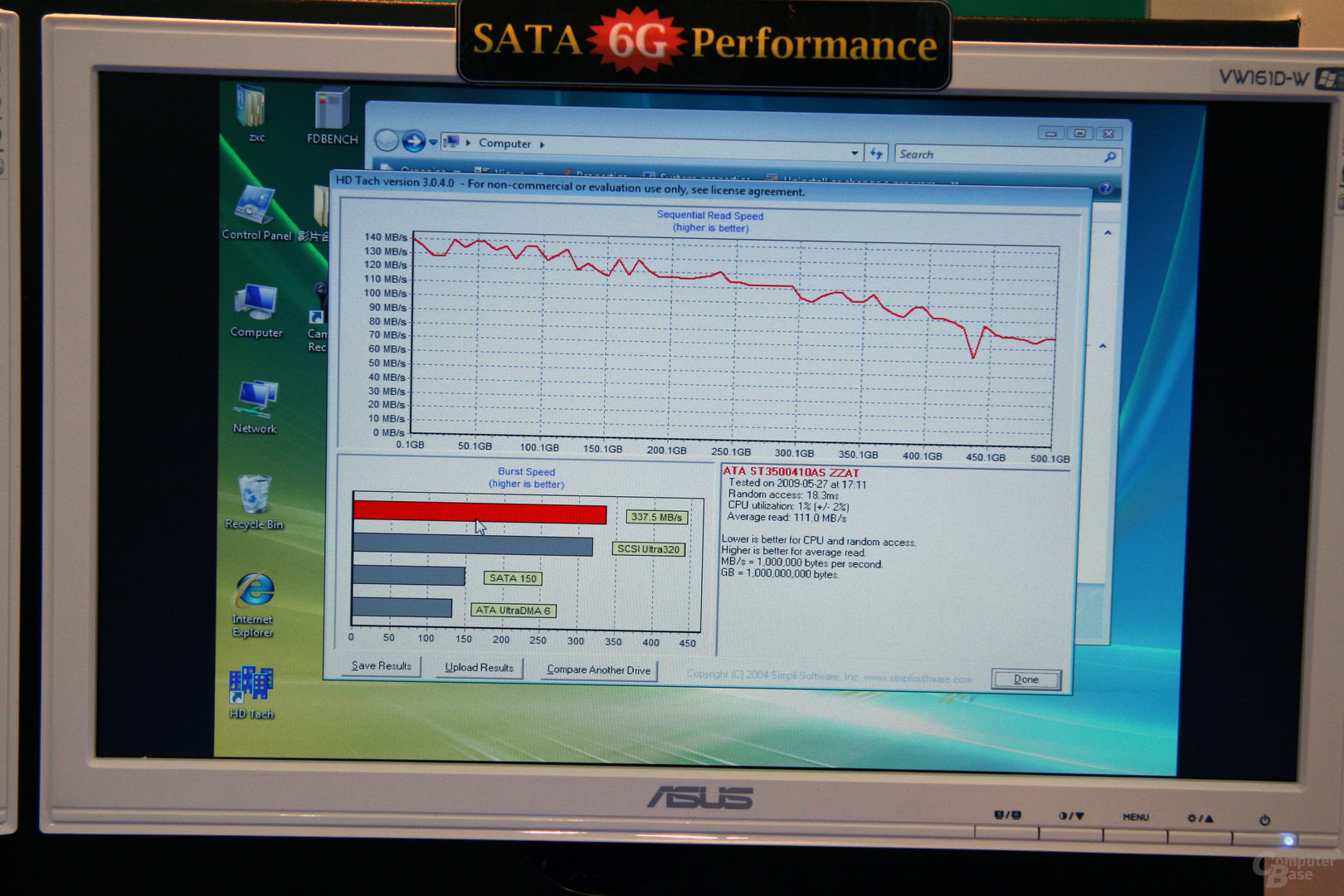 SATA-III-Benchmarks auf Asus P6X58 Premium