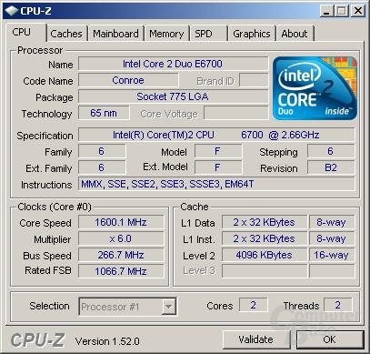 CPU-Z 1.52