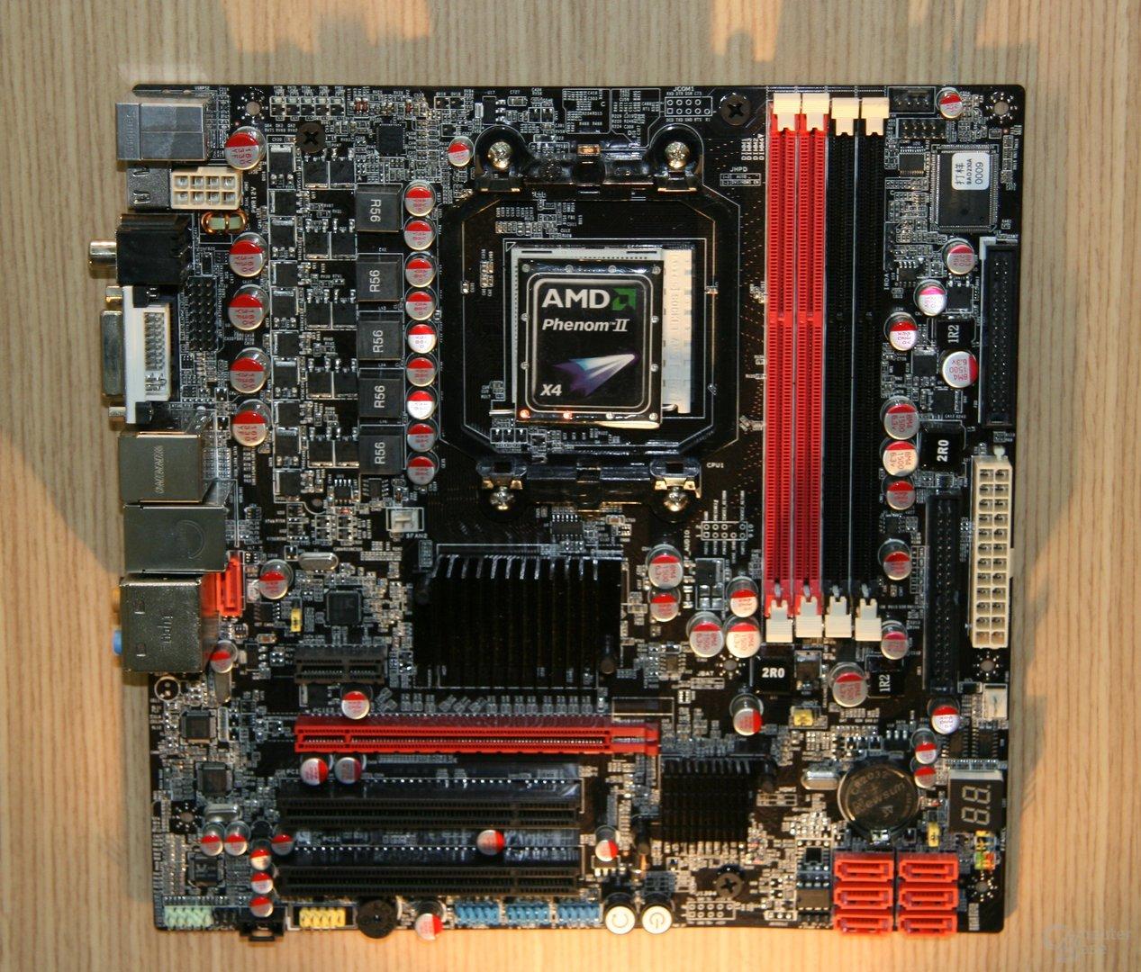 AMD-Mainboards mit 785G auf der Computex 2009