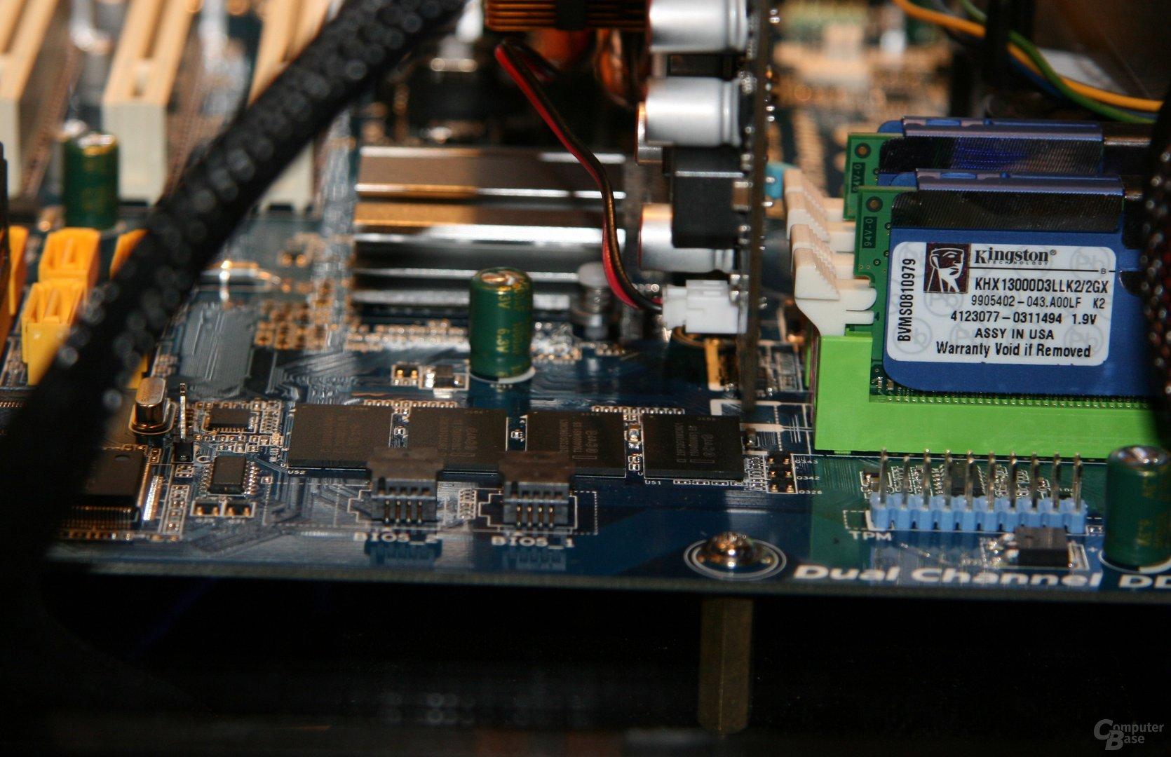 """Intel """"Braidwood"""" direkt auf Platine verlötet"""