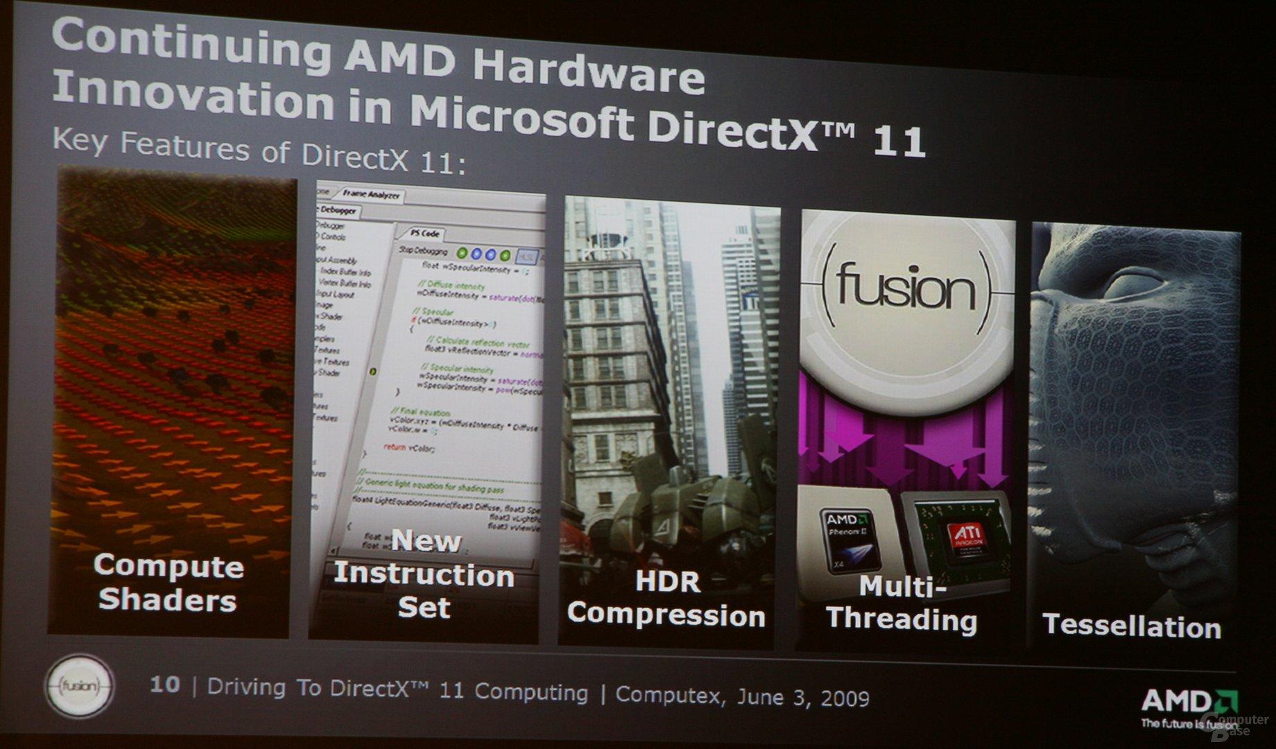 AMD im Rahmen der Computex-Pressekonferenz