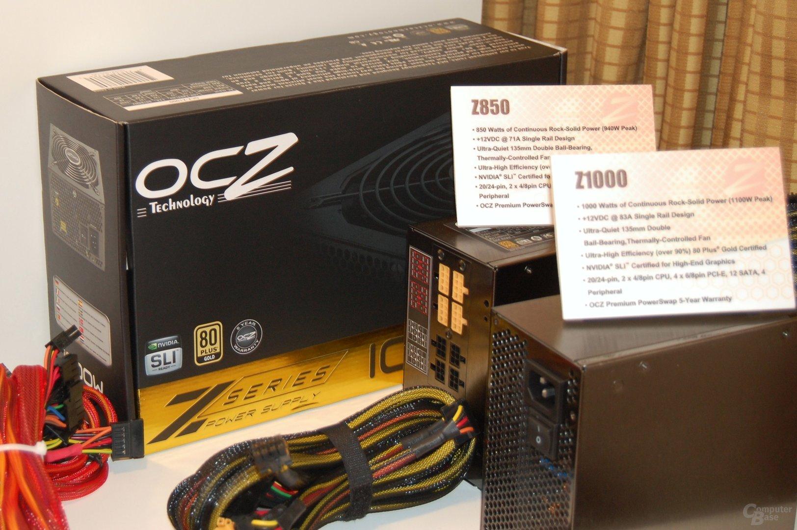 OCZ Z1000 und Z850