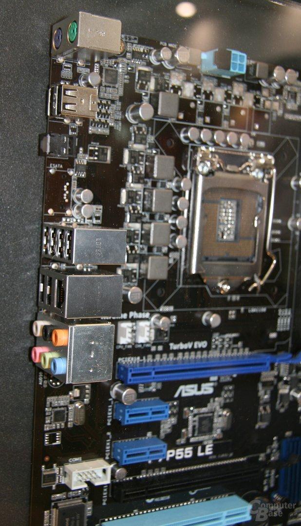 Asus-Mainboards mit Sockel 1156