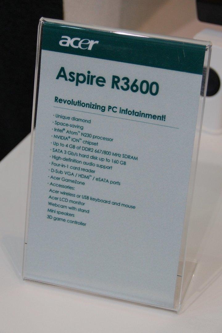 Acer Aspire R3600