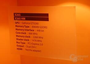 Sparkle Calibre X265 / X265HM