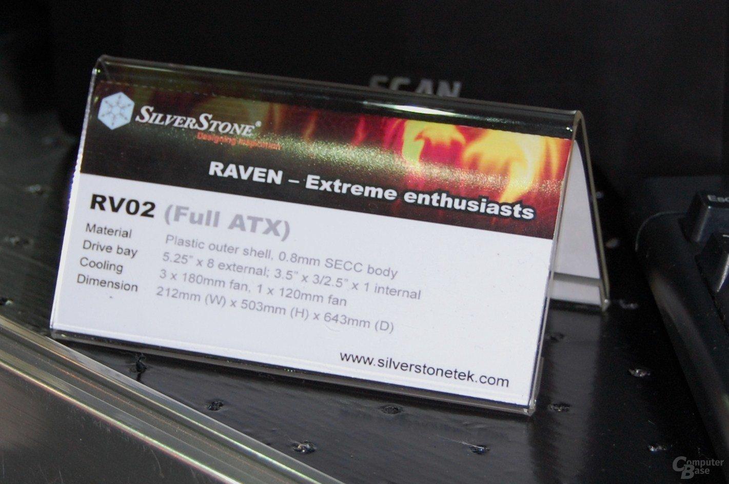Silverstone Raven 2 auf der Computex 2009