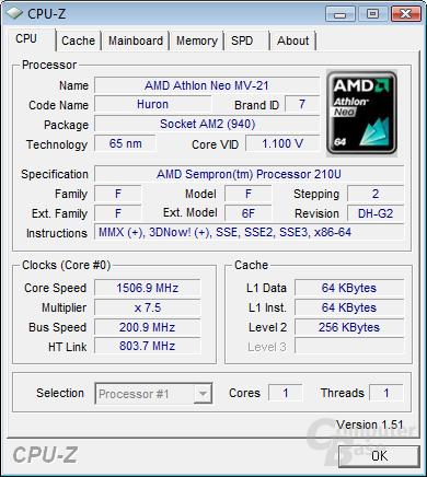 AMD Sempron 210U