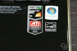 Hewlett Packard DV2 mit Turion Neo X2 L625