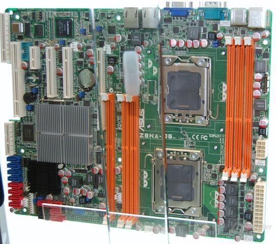 Asus Z8NA-D6 Dual-Sockel 1366 ATX-Mainboard