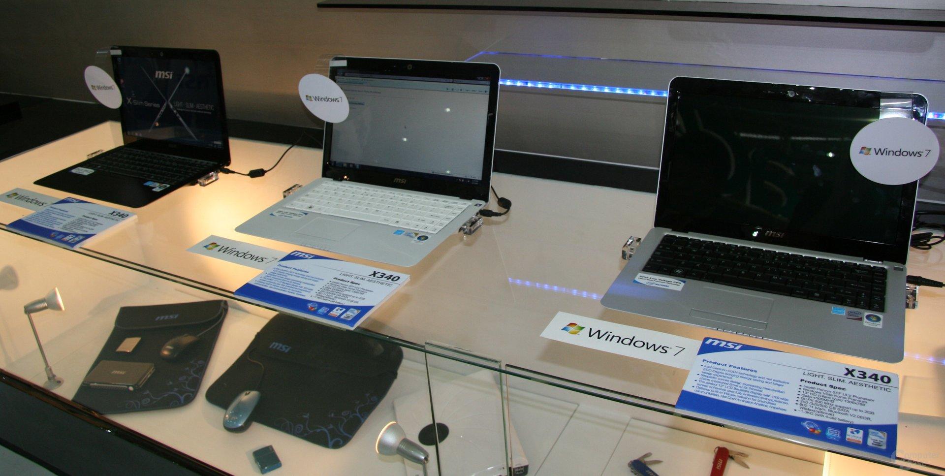 MSIs Notebooks auf der Computex