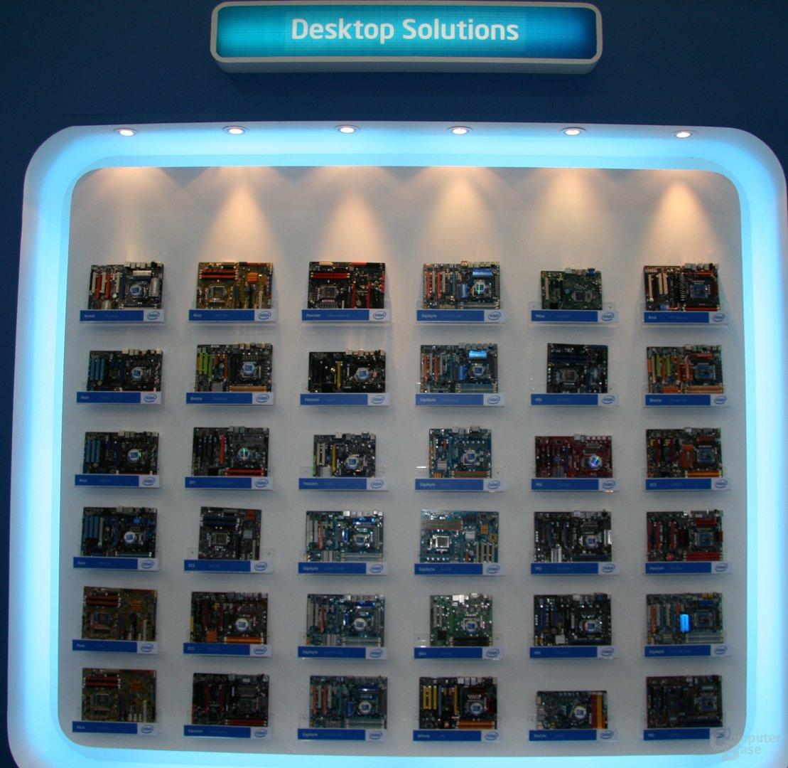 Lynnfield-Mainboards von der Computex
