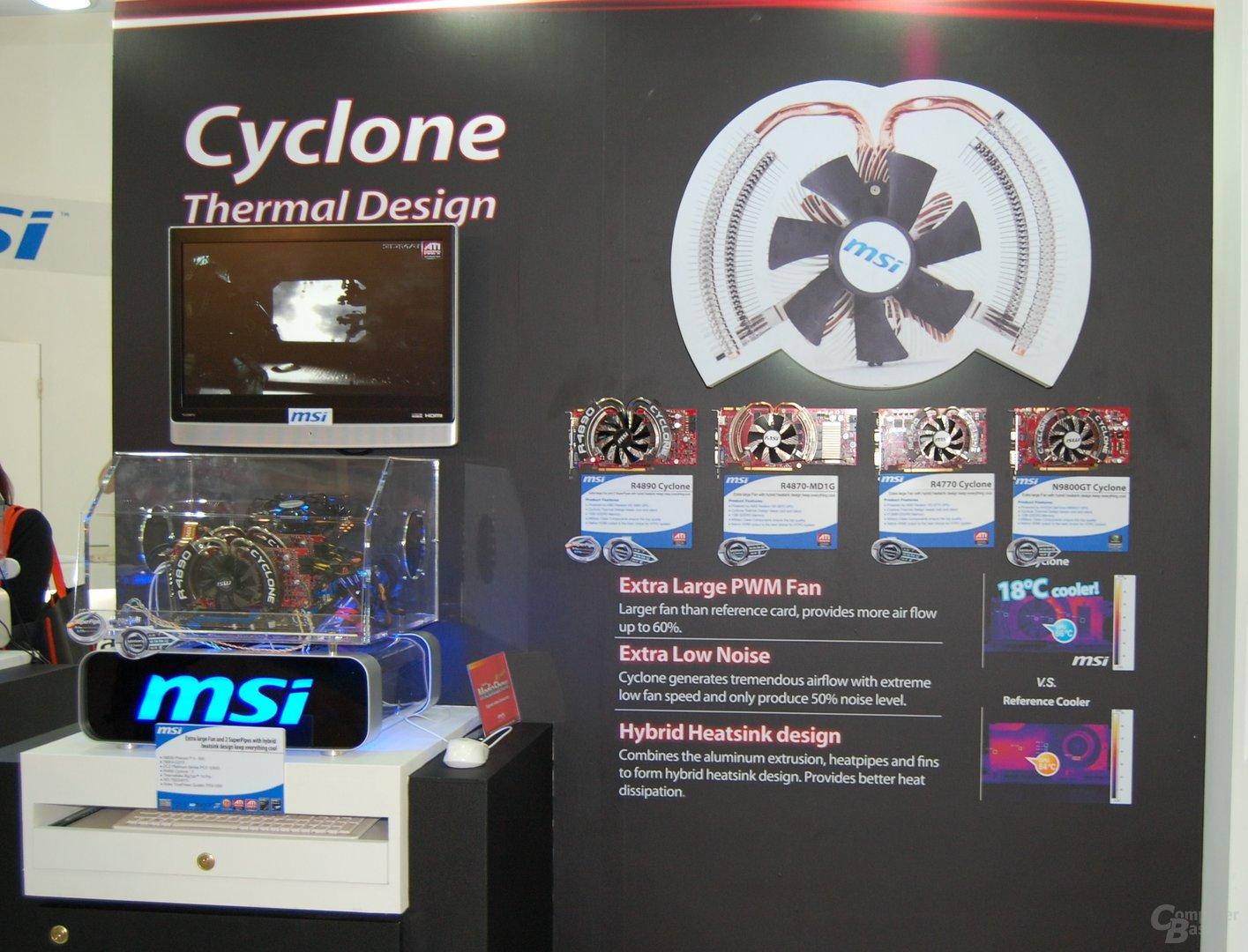 MSI Radeon HD 4890 & 4770 Cyclone