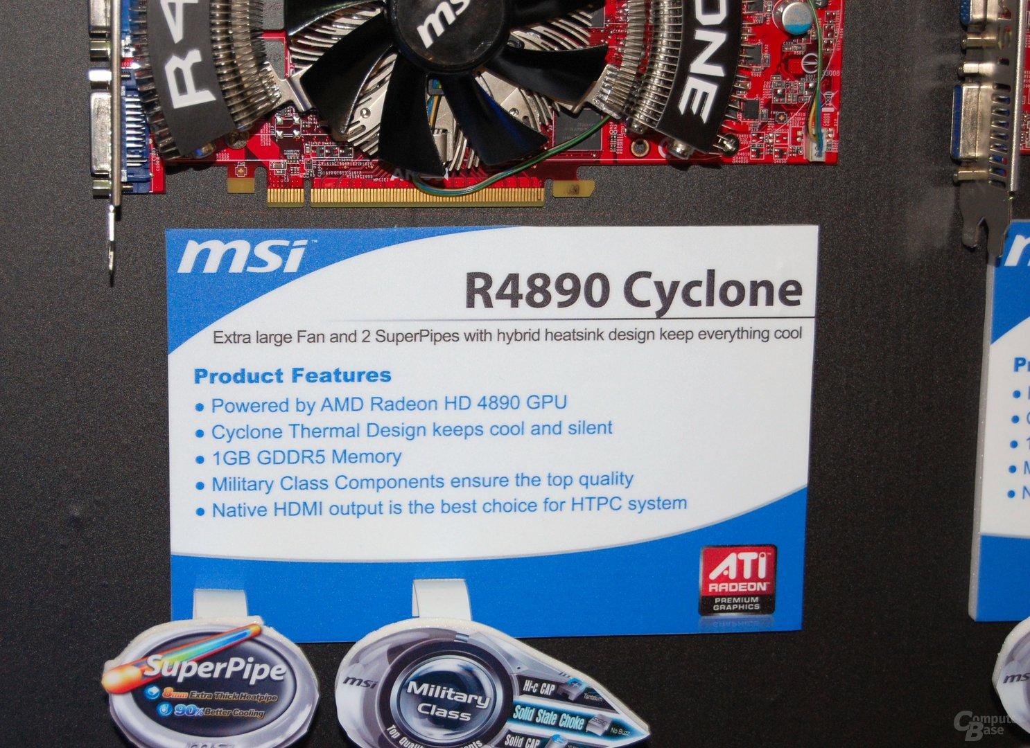 MSI Radeon HD 4890 Cyclone