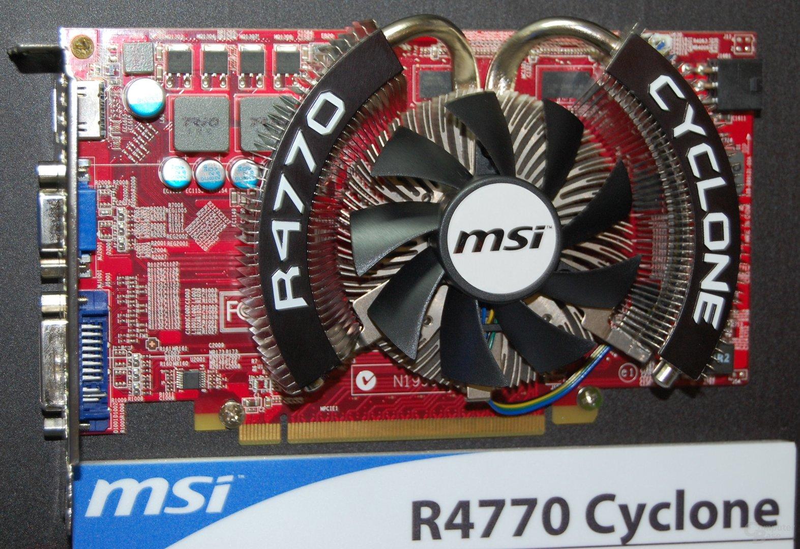 MSI Radeon HD 4770 Cyclone