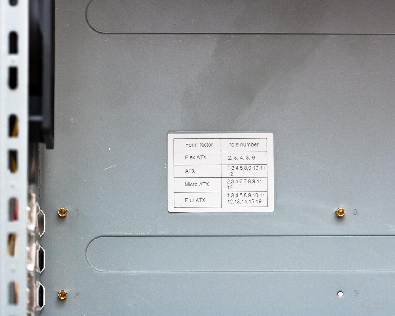 NZXT Whisper – Mainboardtray