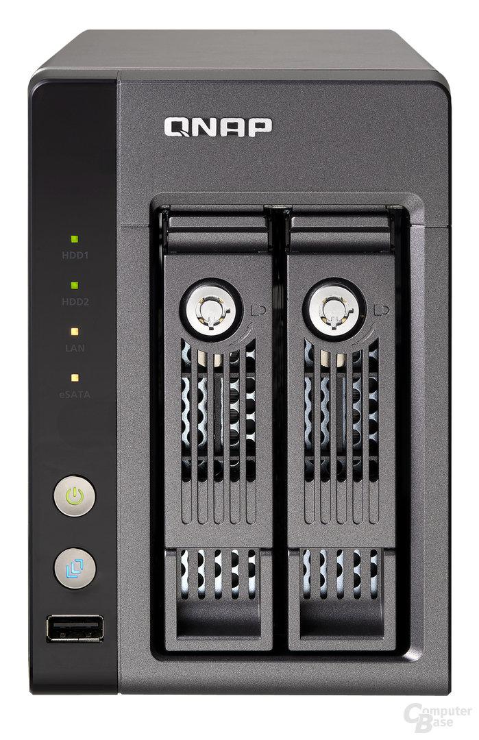 QNAP TS-219P für 2,5- und 3,5-Zoll-HDDs